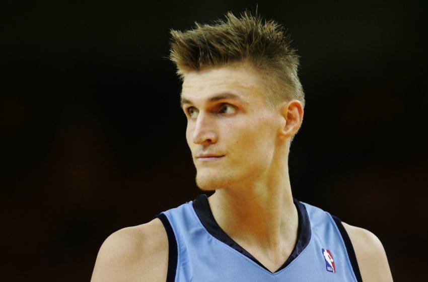 Andrei Kirilenko, Utah Jazz. (Photo by Justin Sullivan/Getty Images)