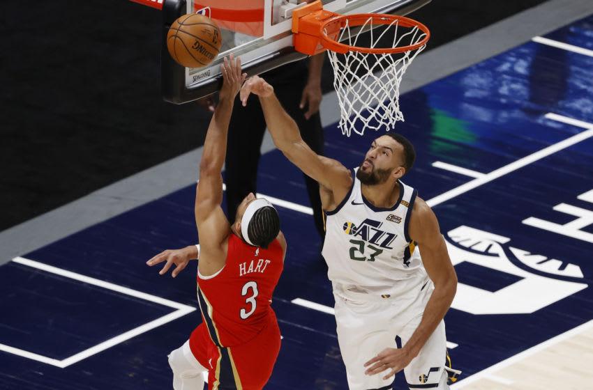 Utah Jazz center Rudy Gobert (Jeffrey Swinger-USA TODAY Sports)