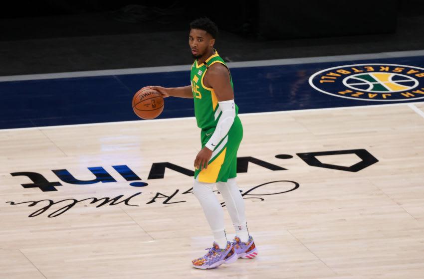 Utah Jazz guard Donovan Mitchell (Chris Nicoll-USA TODAY Sports)