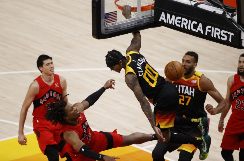 Utah Jazz guard Jordan Clarkson (Jeffrey Swinger-USA TODAY Sports)