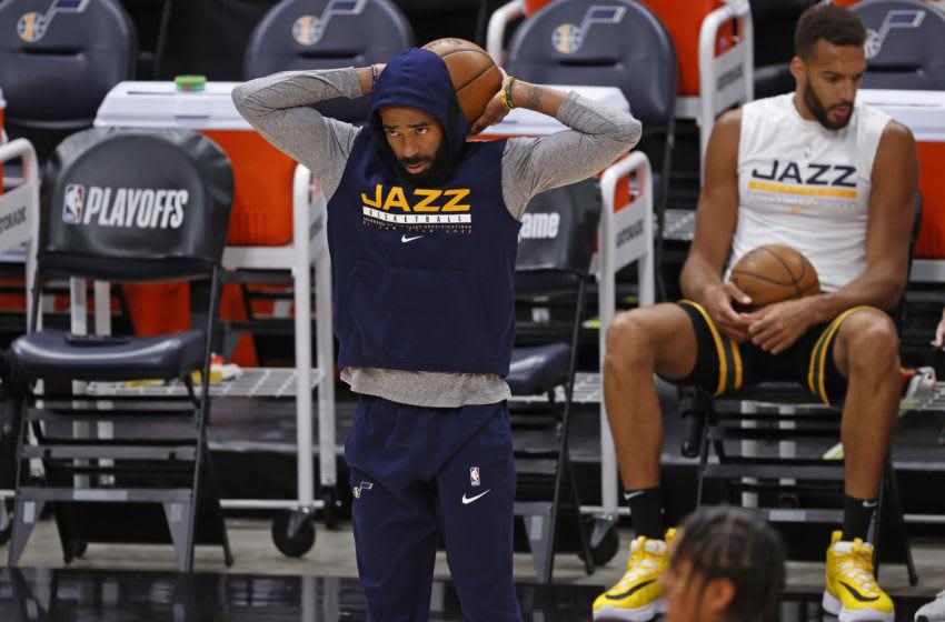 Utah Jazz guard Mike Conley (Jeffrey Swinger-USA TODAY Sports)