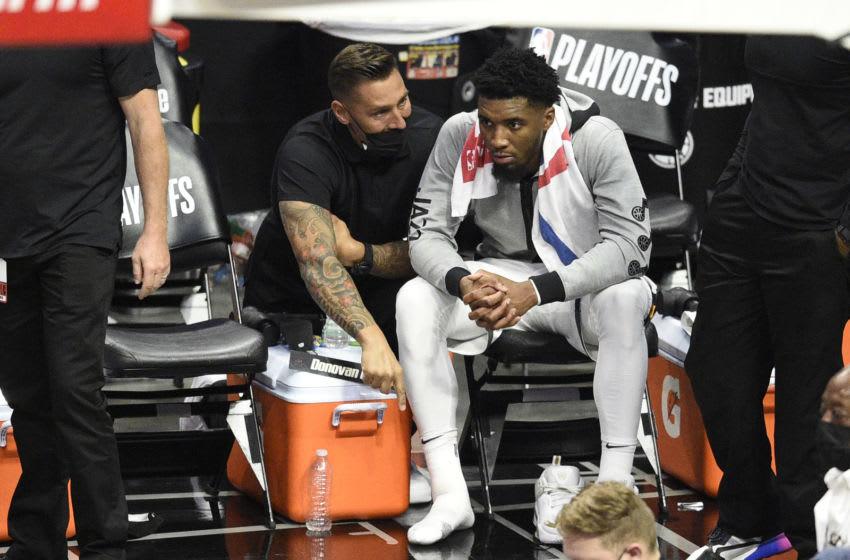 Utah Jazz guard Donovan Mitchell (Kelvin Kuo-USA TODAY Sports)