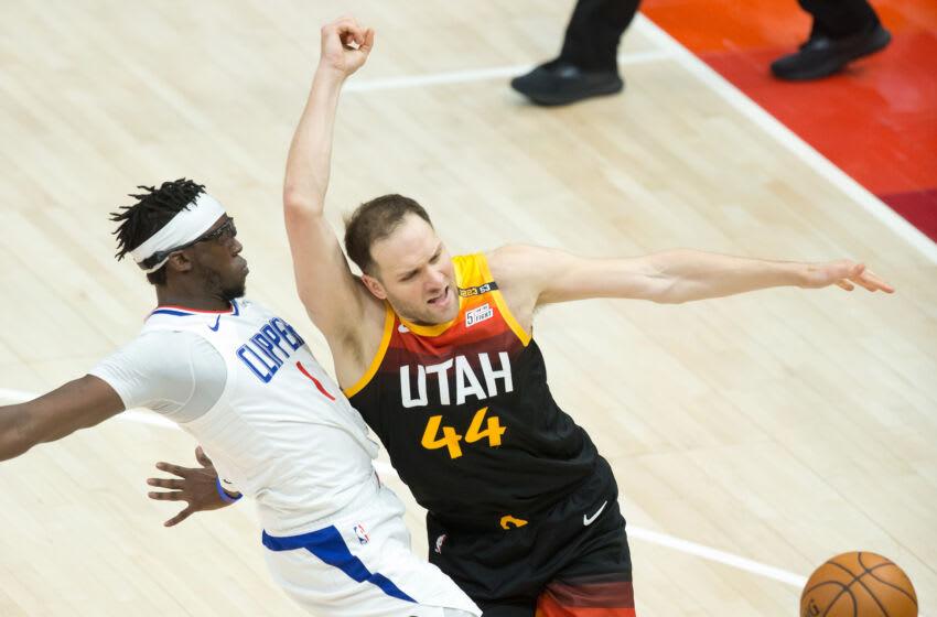 Utah Jazz forward Bojan Bogdanovic (Russell Isabella-USA TODAY Sports)
