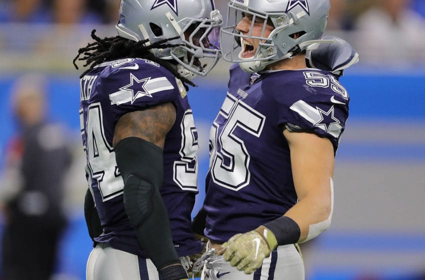 Jaylon Smith, Leighton Vander Esch, Dallas Cowboys (Photo by Leon Halip/Getty Images)