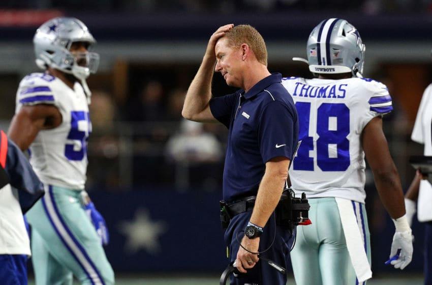 Jason Garrett, Dallas Cowboys (Photo by Richard Rodriguez/Getty Images)