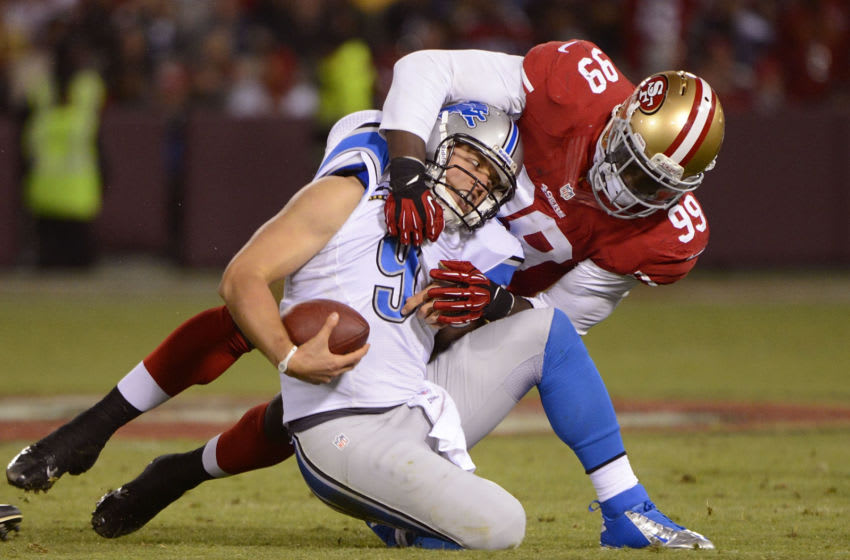 Aldon Smith, San Francisco 49ers (Photo by Thearon W. Henderson/Getty Images)