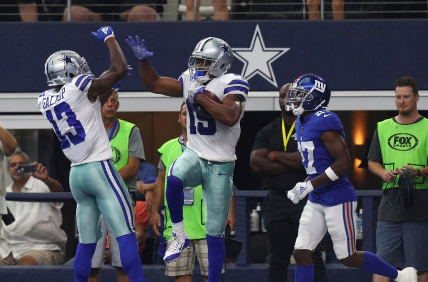 Michael Gallup, Amari Cooper, Dallas Cowboys (Photo by Richard Rodriguez/Getty Images)