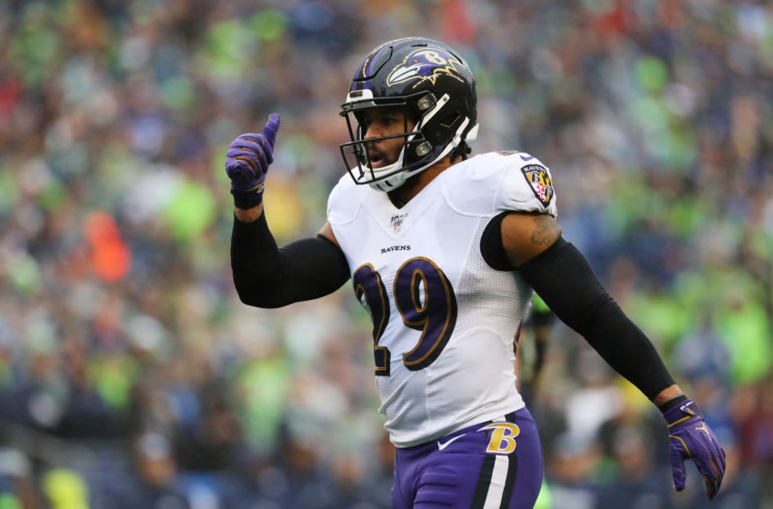 Earl Thomas, Baltimore Ravens (Photo by Abbie Parr/Getty Images)