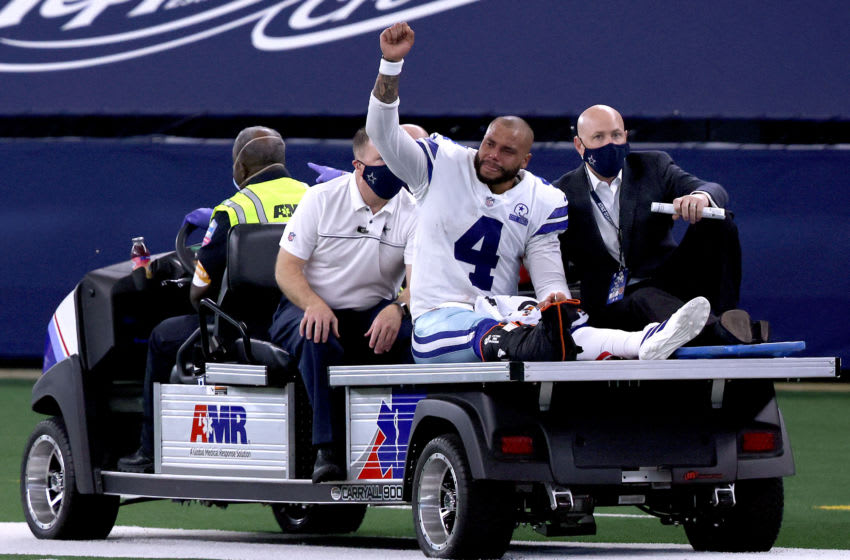 Dak Prescott had an unreported second ankle surgery