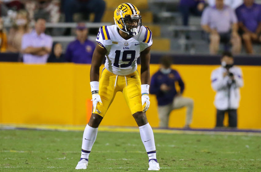 Jabril Cox #19 of the LSU Tigers (Photo by Jonathan Bachman/Getty Images)