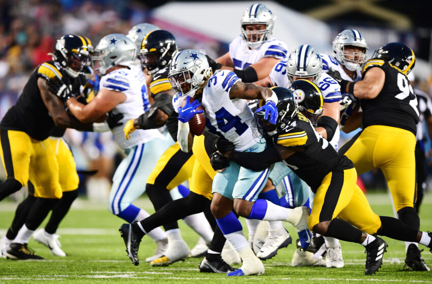 Rico Dowdle #34 of the Dallas Cowboys (Photo by Emilee Chinn/Getty Images)