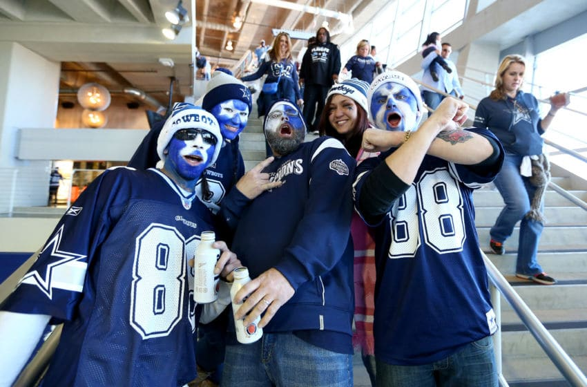 Dallas Cowboys fans (Photo by Ronald Martinez/Getty Images)