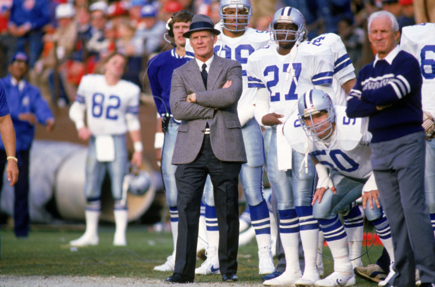 Tom Landry, Dallas Cowboys (Photo by Otto Greule Jr./Getty Images)