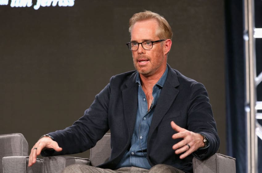 PASADENA, CA - JANUARY 05: Host Joe Buck of AT&T's Original Series 'Undeniable with Joe Buck' speaks onstage during AT&T AUDIENCE Network Presents at 2017 Winter TCA at Langham Hotel on January 5, 2017 in Pasadena, California. (Photo by Phillip Faraone/Getty Images for DIRECTV)