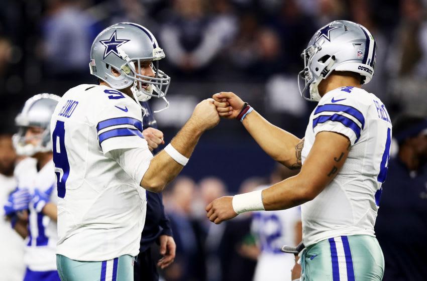 Tony Romo, Dak Prescott, Dallas Cowboys (Photo by Ezra Shaw/Getty Images)