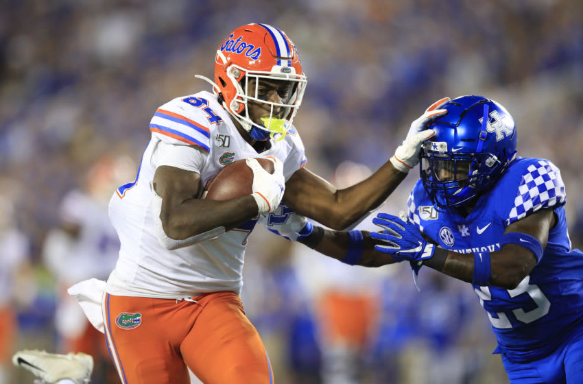 Kyle Pitts, Florida Gators, (Photo by Andy Lyons/Getty Images)