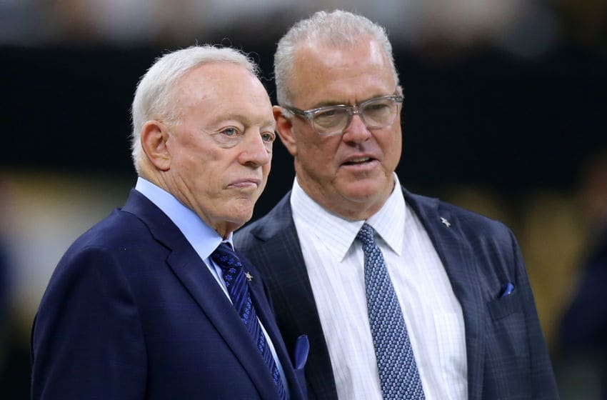 Jerry Jones, Stephen Jones, Dallas Cowboys (Photo by Jonathan Bachman/Getty Images)
