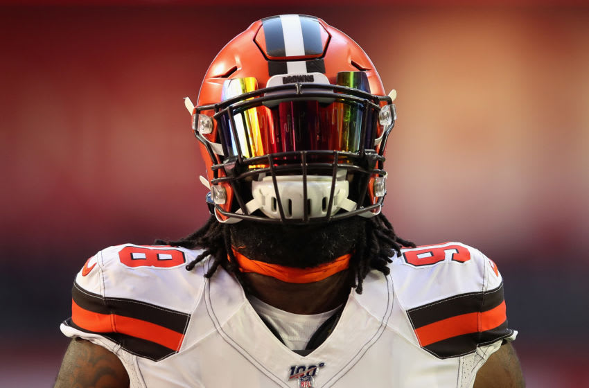 Sheldon Richardson, Cleveland Browns,(Photo by Christian Petersen/Getty Images)