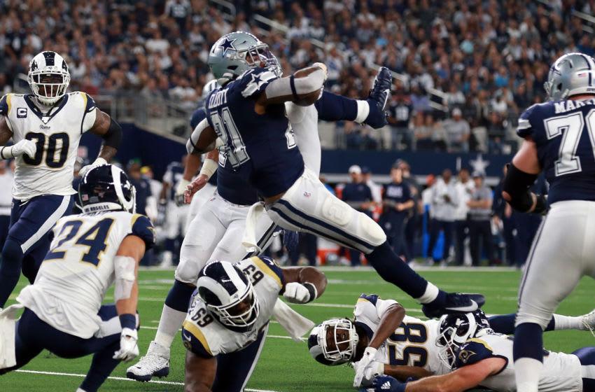 Ezekiel Elliott #21 Dallas Cowboys (Photo by Richard Rodriguez/Getty Images)