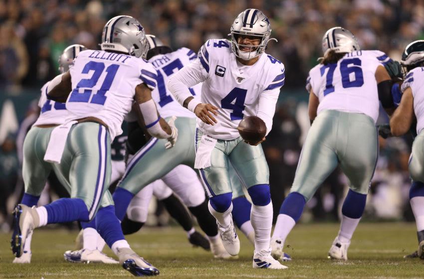 Dak Prescott, Ezekiel Elliott, Dallas Cowboys (Photo by Patrick Smith/Getty Images)