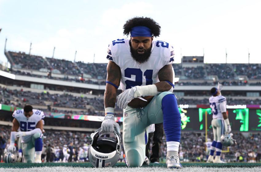 Ezekiel Elliott #21, Dallas Cowboys (Photo by Patrick Smith/Getty Images)