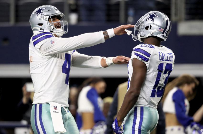Dak Prescott, Michael Gallup, Dallas Cowboys (Photo by Ronald Martinez/Getty Images)