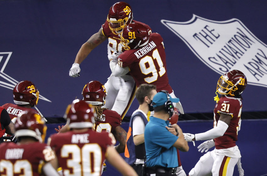 Montez Sweat, Washington Football Team, (Photo by Tom Pennington/Getty Images)