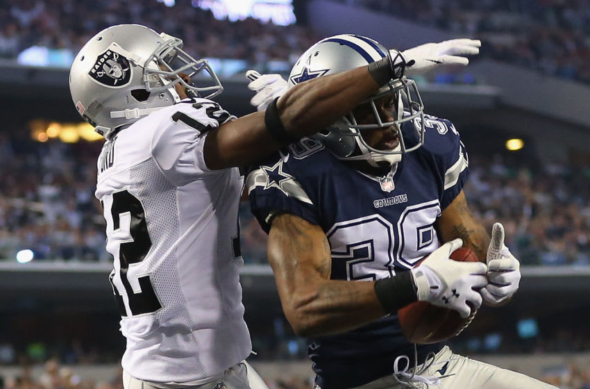 Brandon Carr #39 of the Dallas Cowboys (Photo by Ronald Martinez/Getty Images)