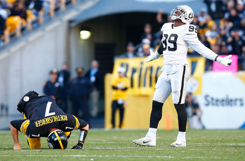 Aldon Smith, Oakland Raiders (Photo by Jared Wickerham/Getty Images)