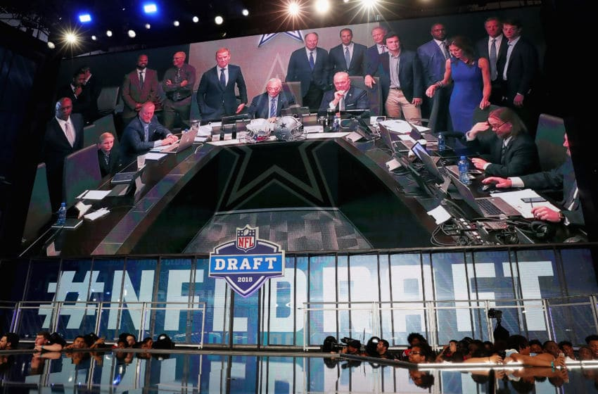 Dallas Cowboys war room (Photo by Tom Pennington/Getty Images)