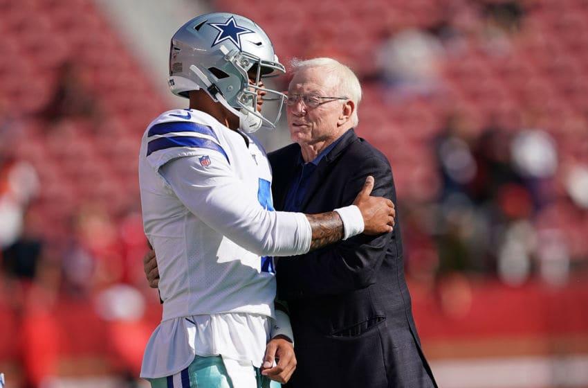 Dak Prescott, Jerry Jones, Dallas Cowboys (Photo by Thearon W. Henderson/Getty Images)