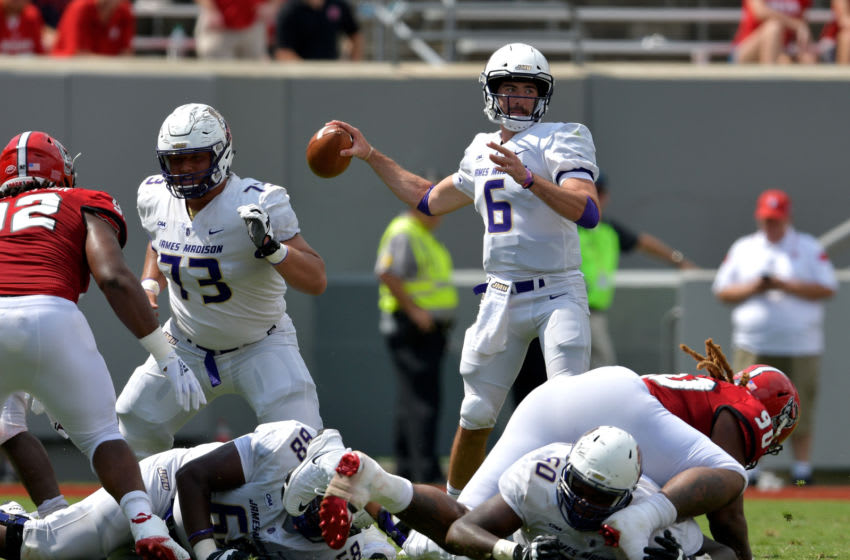 Ben DiNucci, James Madison (Photo by Grant Halverson/Getty Images)