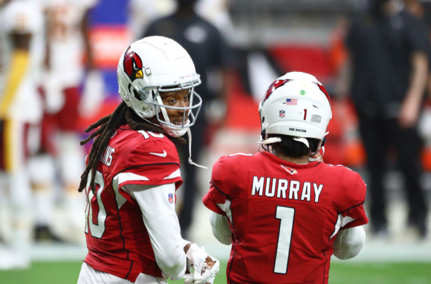 Arizona Cardinals, Kyler Murray, DeAndre Hopkins - Mandatory Credit: Mark J. Rebilas-USA TODAY Sports