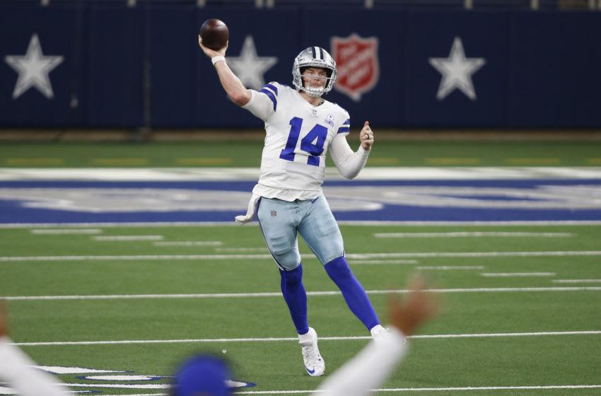 Andy Dalton, Dallas Cowboys - Mandatory Credit: Tim Heitman-USA TODAY Sports