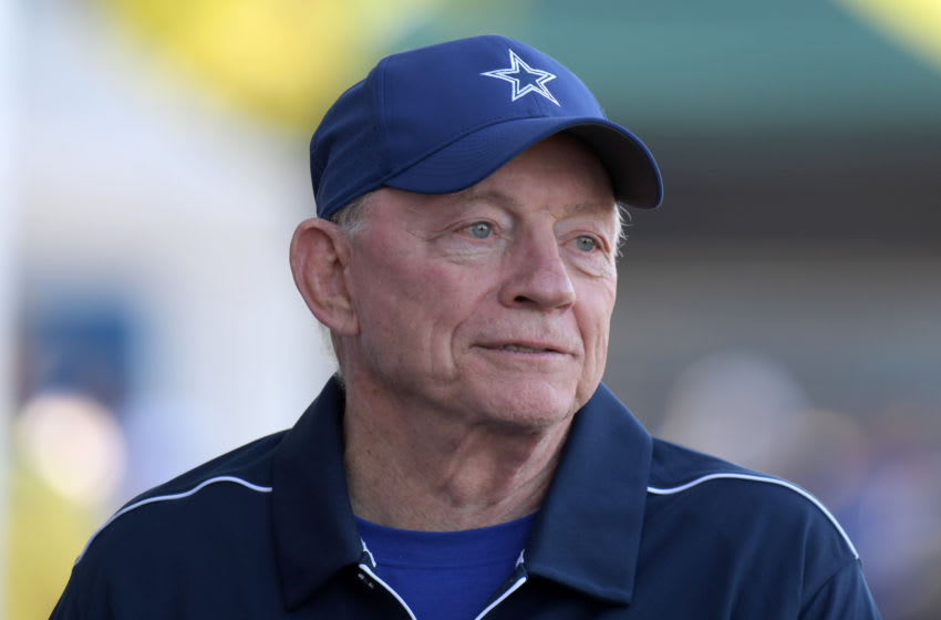 Jerry Jones, Dallas Cowboys (Credit: Kirby Lee-USA TODAY Sports)