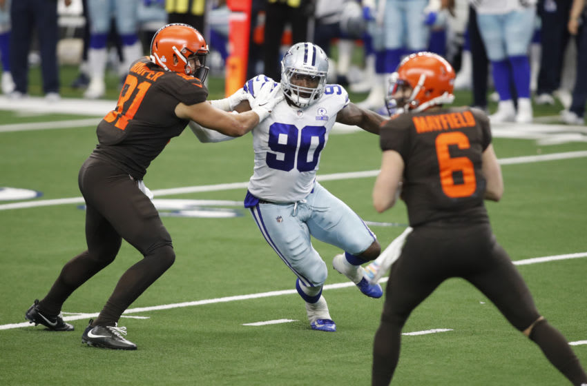 Dallas Cowboys defensive end DeMarcus Lawrence (Tim Heitman-USA TODAY Sports)