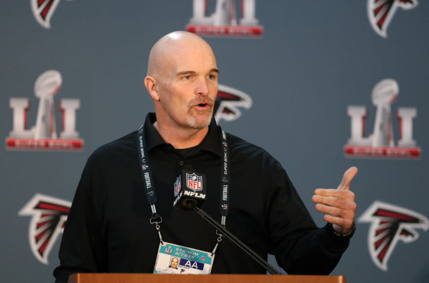Dan Quinn, Atlanta Falcons (Credit: Matthew Emmons-USA TODAY Sports)