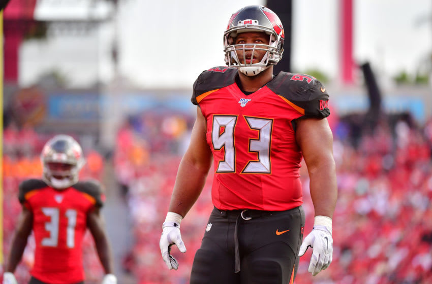 Ndamukong Suh, Tampa Bay Buccaneers, (Photo by Julio Aguilar/Getty Images)