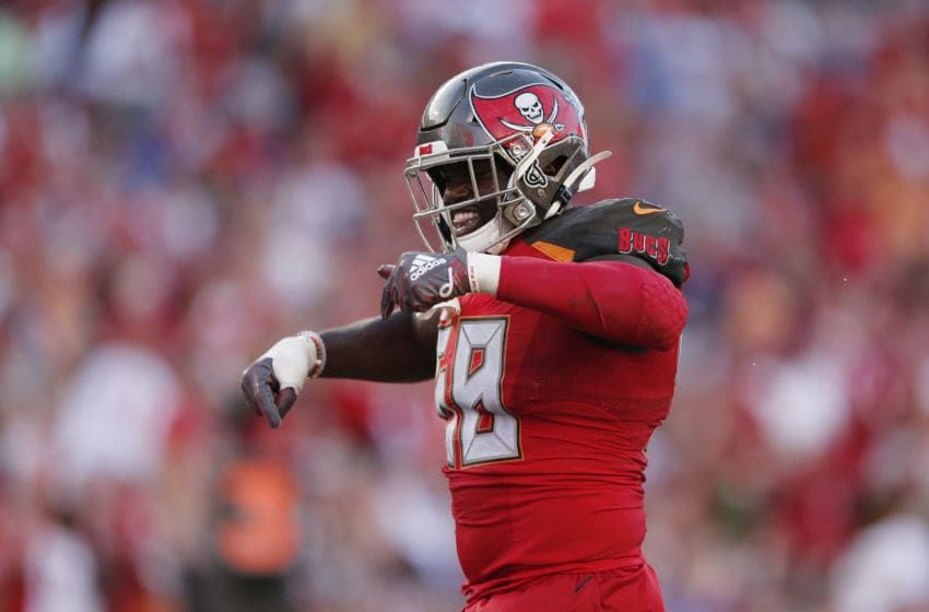 Shaquil Barrett, Tampa Bay Buccaneers, (Photo by Michael Reaves/Getty Images)