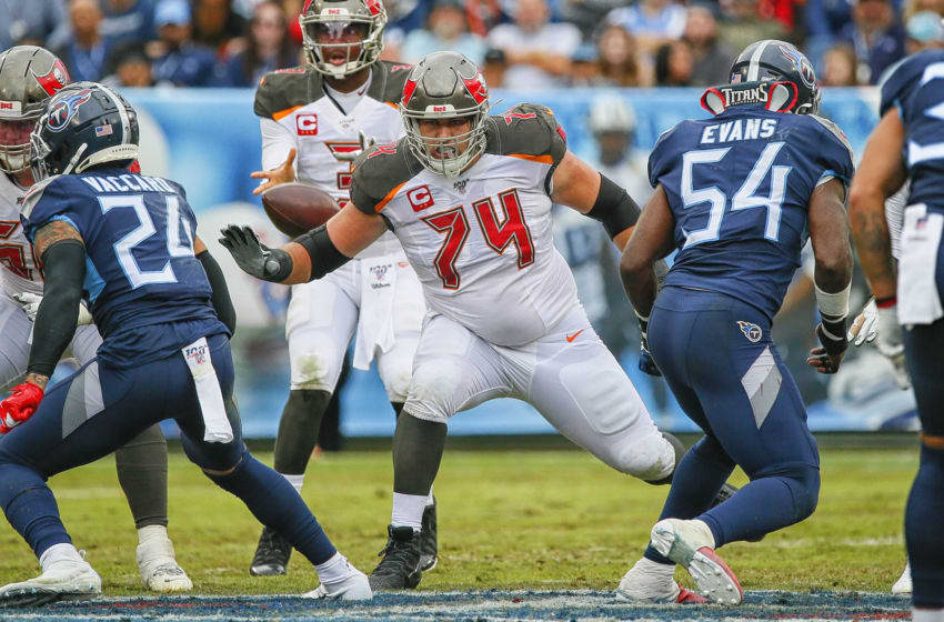 Ali Marpet, Tampa Bay Buccaneers, offensive line(Photo by Frederick Breedon/Getty Images)