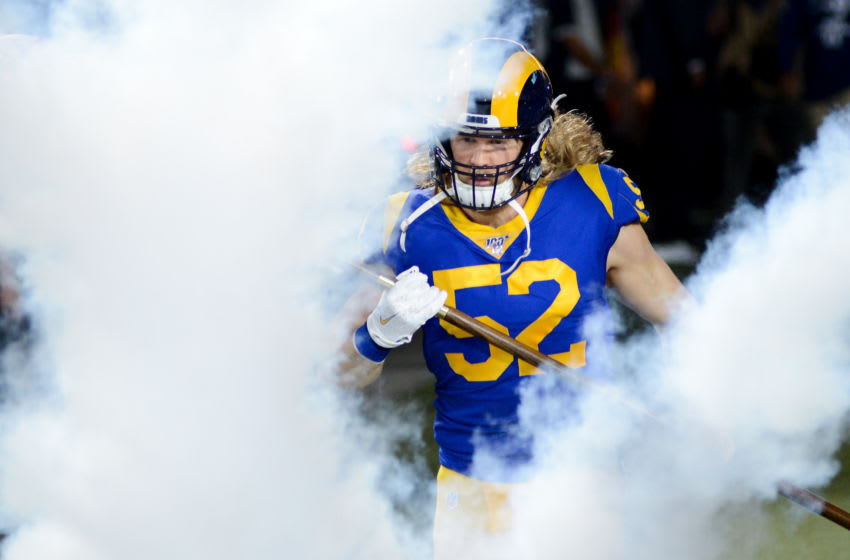 Clay Matthews, Los Angeles Rams, (Photo by Meg Oliphant/Getty Images)