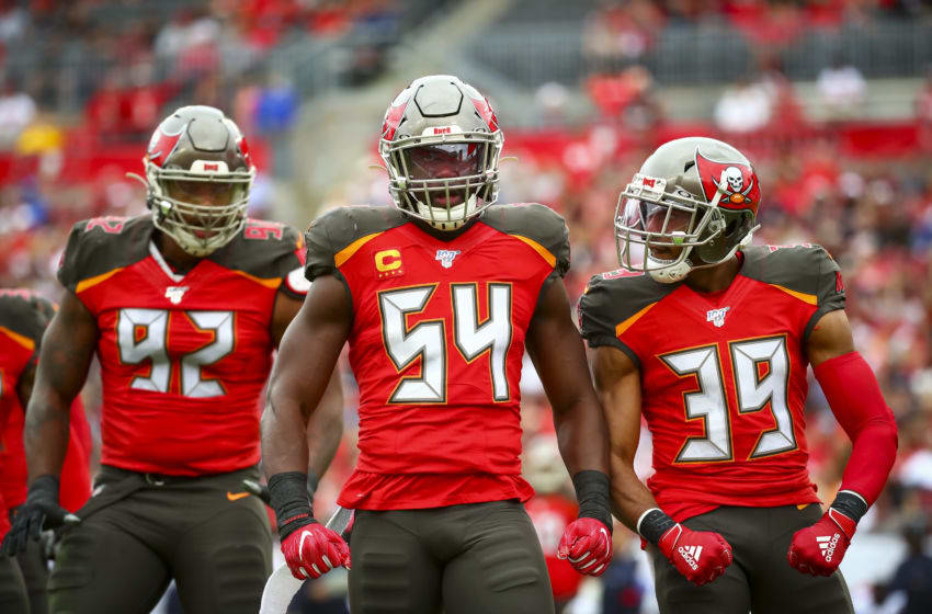 Lavonte David, Tampa Bay Buccaneers, (Photo by Will Vragovic/Getty Images)