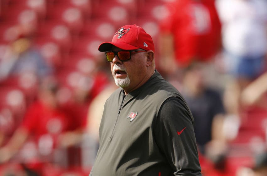Bruce Arians, Tampa Bay Buccaneers,(Photo by Michael Reaves/Getty Images)