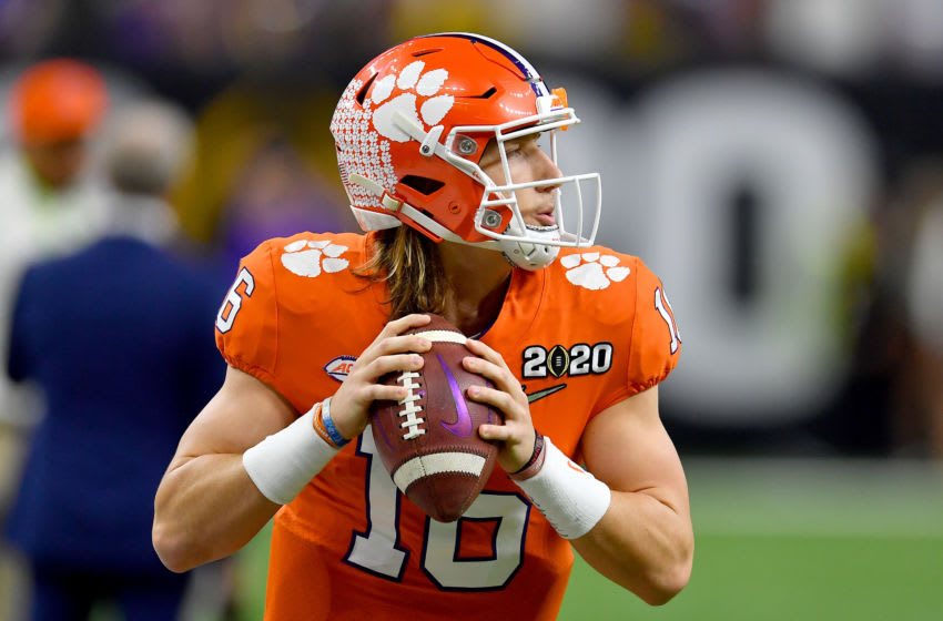 Trevor Lawrence, future opponent of the Tampa Bay Buccaneers (Photo by Alika Jenner/Getty Images)