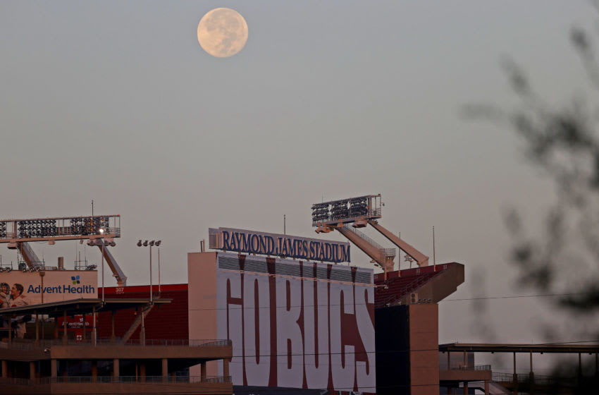 Raymond James Stadium, Tampa Bay Buccaneers (Photo by Mike Ehrmann/Getty Images)