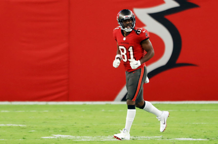 Antonio Brown, Tampa Bay Buccaneers, (Photo by Mike Ehrmann/Getty Images)