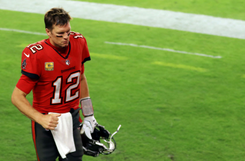 Tom Brady, Tampa Bay Buccaneers,(Photo by Mike Ehrmann/Getty Images)