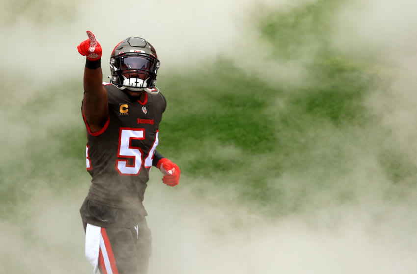 Lavonte David, Tampa Bay Buccaneers, (Photo by Mike Ehrmann/Getty Images)