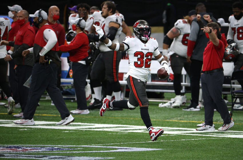 Mike Edwards, Tampa Bay Buccaneers (Photo by Chris Graythen/Getty Images)
