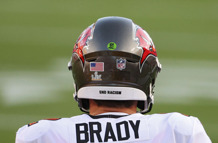 Tom Brady, Tampa Bay Buccaneers, (Photo by Patrick Smith/Getty Images)